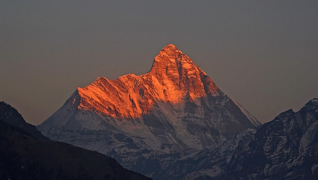 Nanda Devi - Top Mountains of India