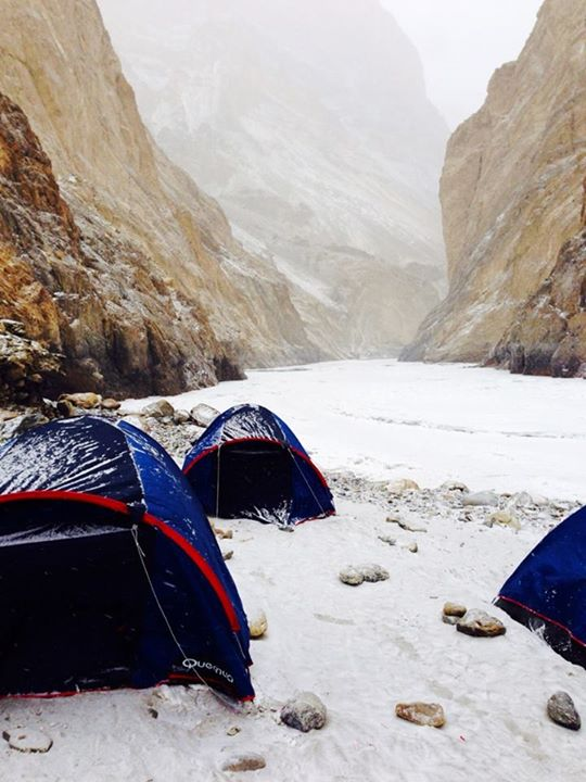Chadar Trek 2015 - Renok Adventures