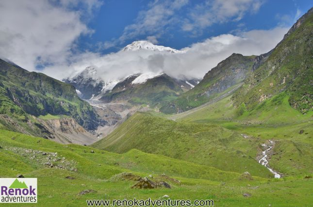 View From Pindari Glacier Trek