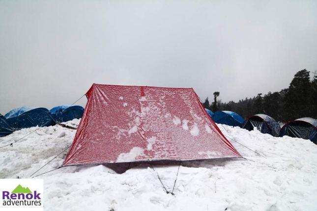 kedarkantha-trek-snowfall